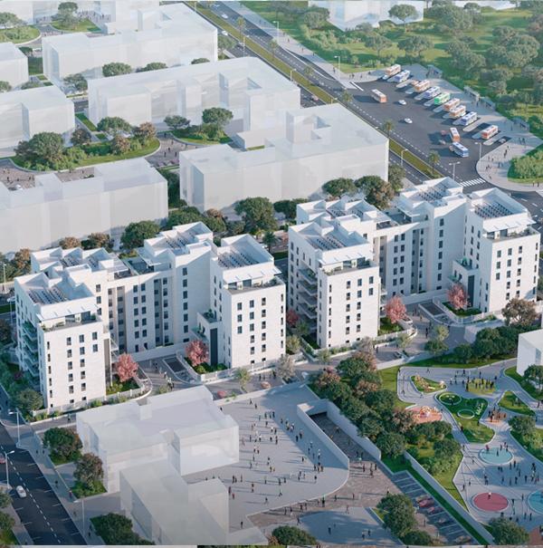 משכנות אשקלון הצעירה . אדריכלים- דאובר אדריכלים. יזם- גשם למשתכן