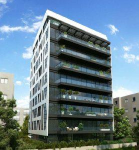 ויצמן 129 תל אביב. יזם גלים התחדשות עירונית בעמ. אדריכל דרור רימוק