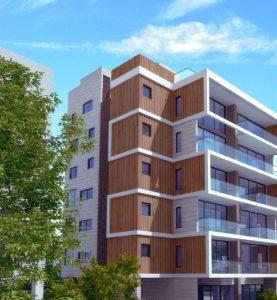 אבן גבירול 3 הרצליה. יזם גלים התחדשות עירונית. אדריכל דרור רימוק אדריכלים